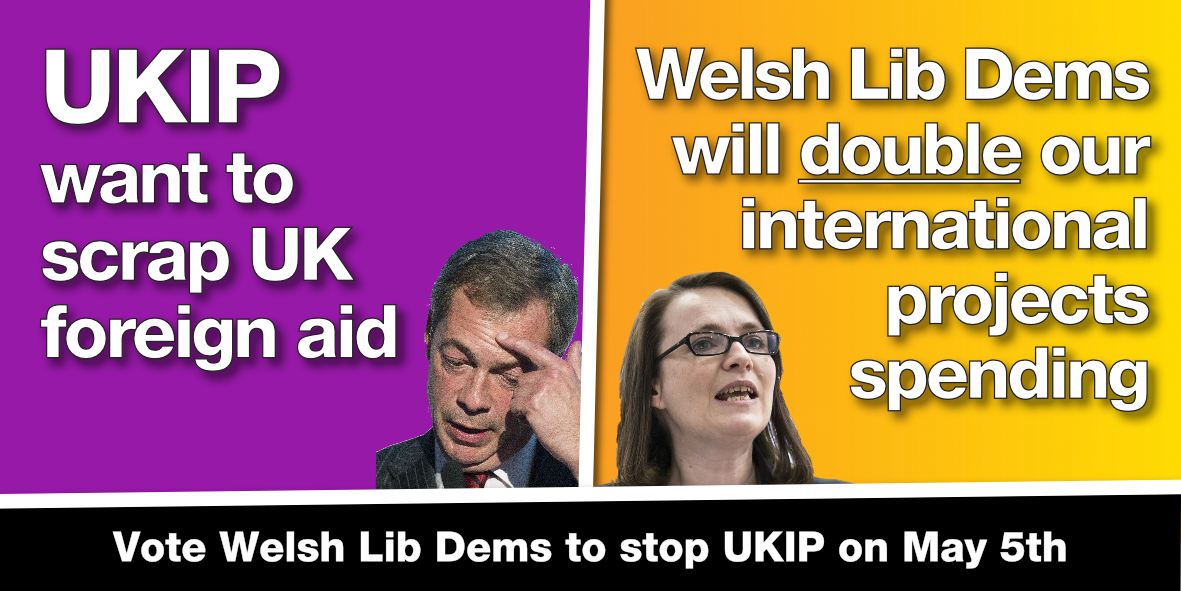 Unlike UKIP, we'll ensure Wales plays its part on world stage