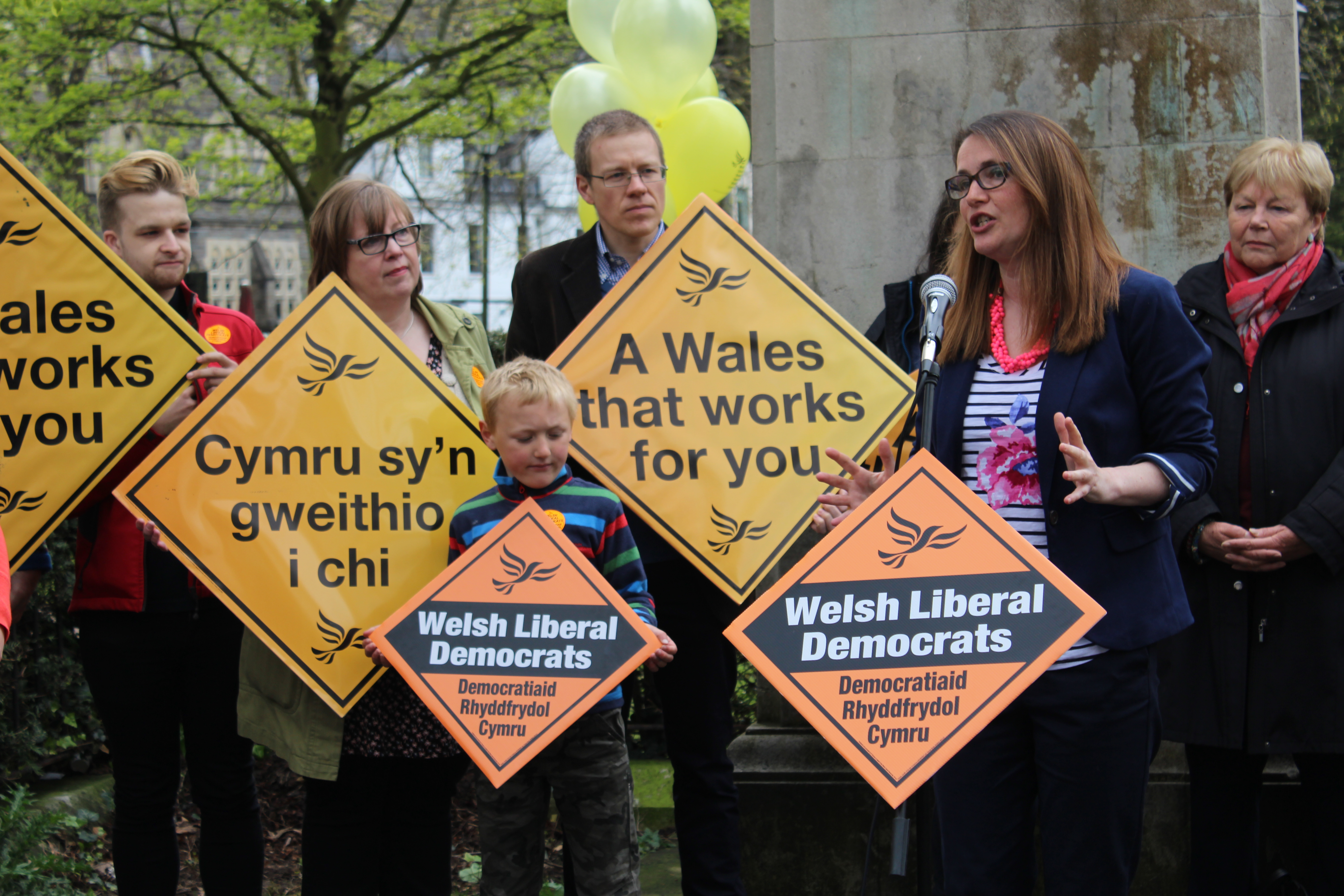 """Vote for the party that gets things done"" – Kirsty Williams"