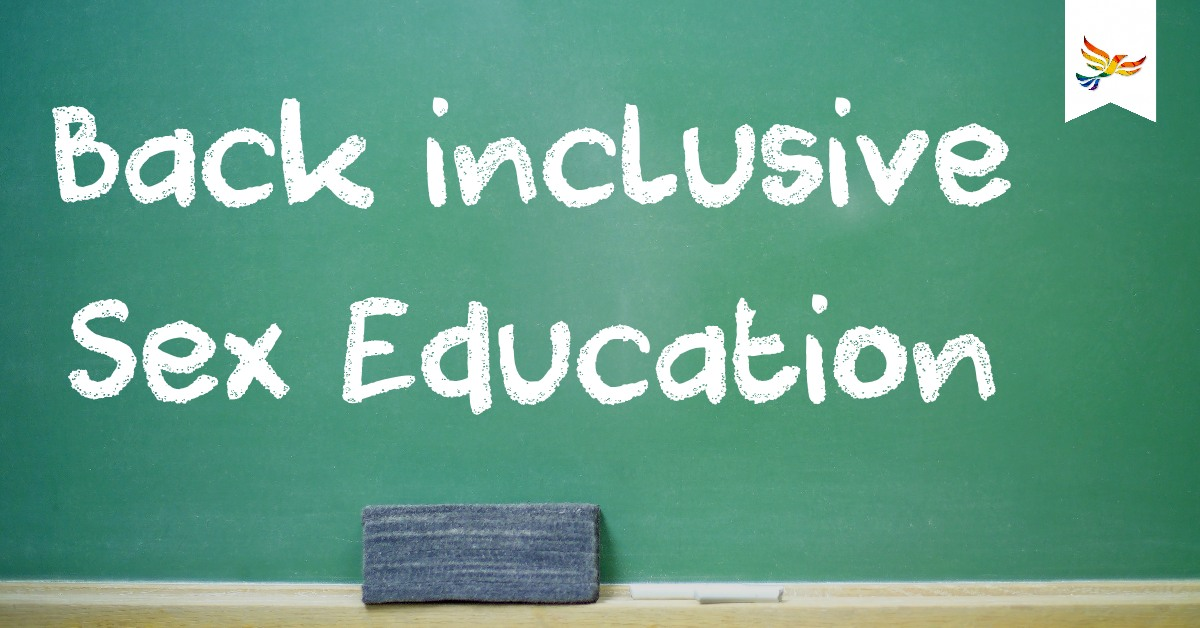 Back inclusive Sex Education