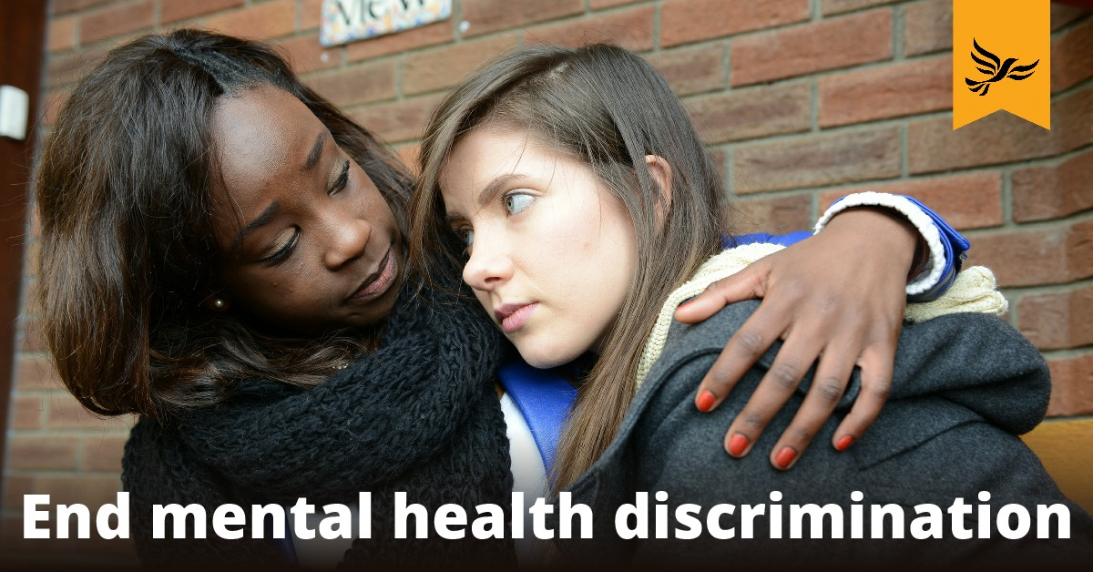 End mental health discrimination
