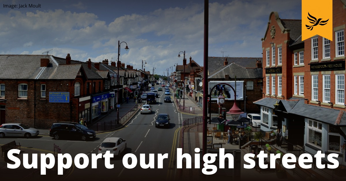 Revitalise our high streets