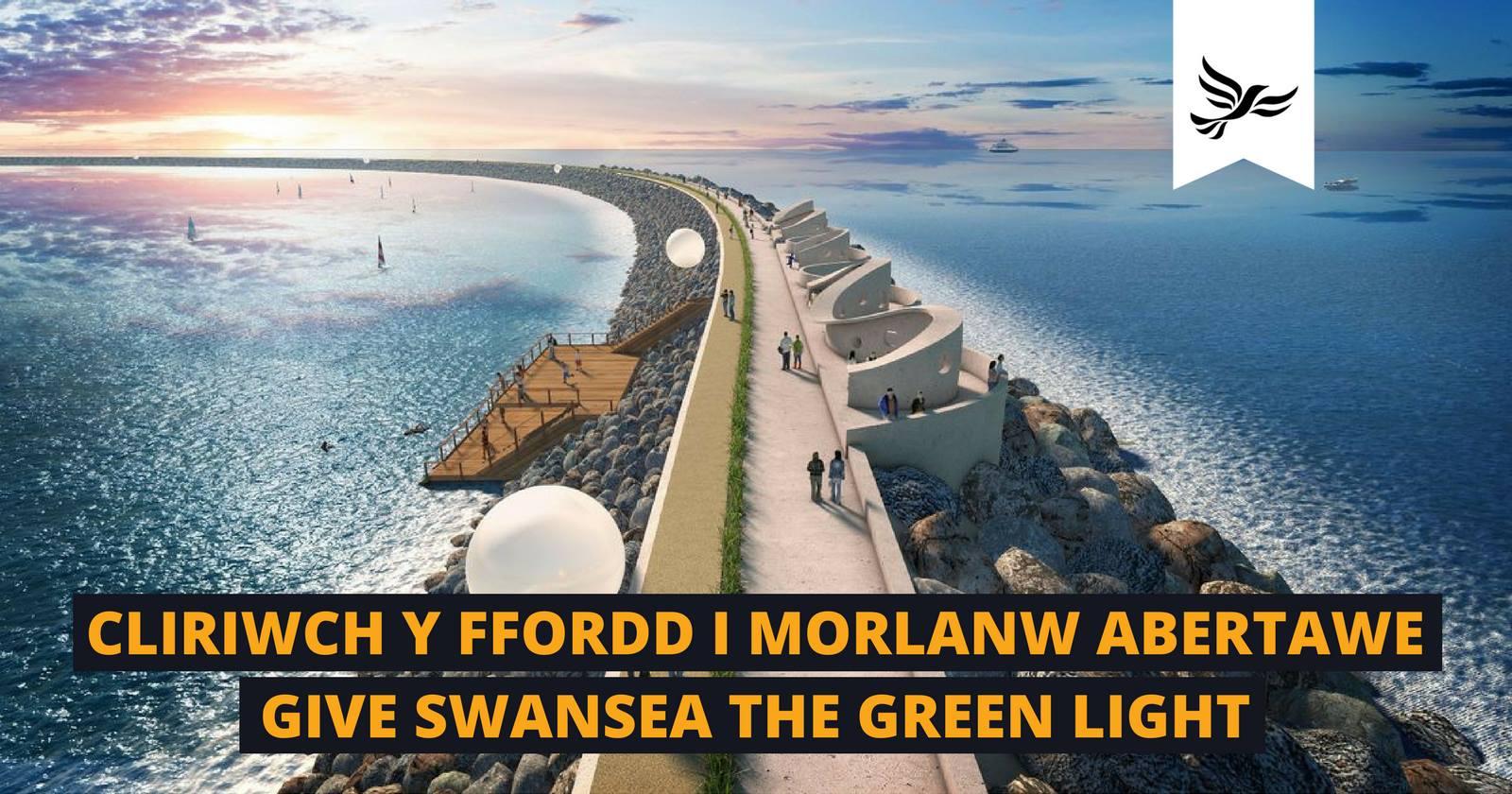 Lib Dems challenge Chancellor to act on Swansea Bay Tidal Lagoon