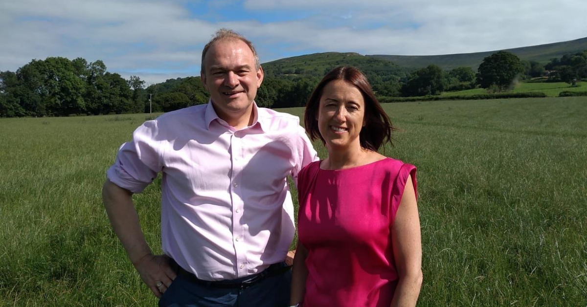 Jane Dodds and Welsh Liberal Democrats congratulate Ed Davey on Lib Dem Leadership Victory