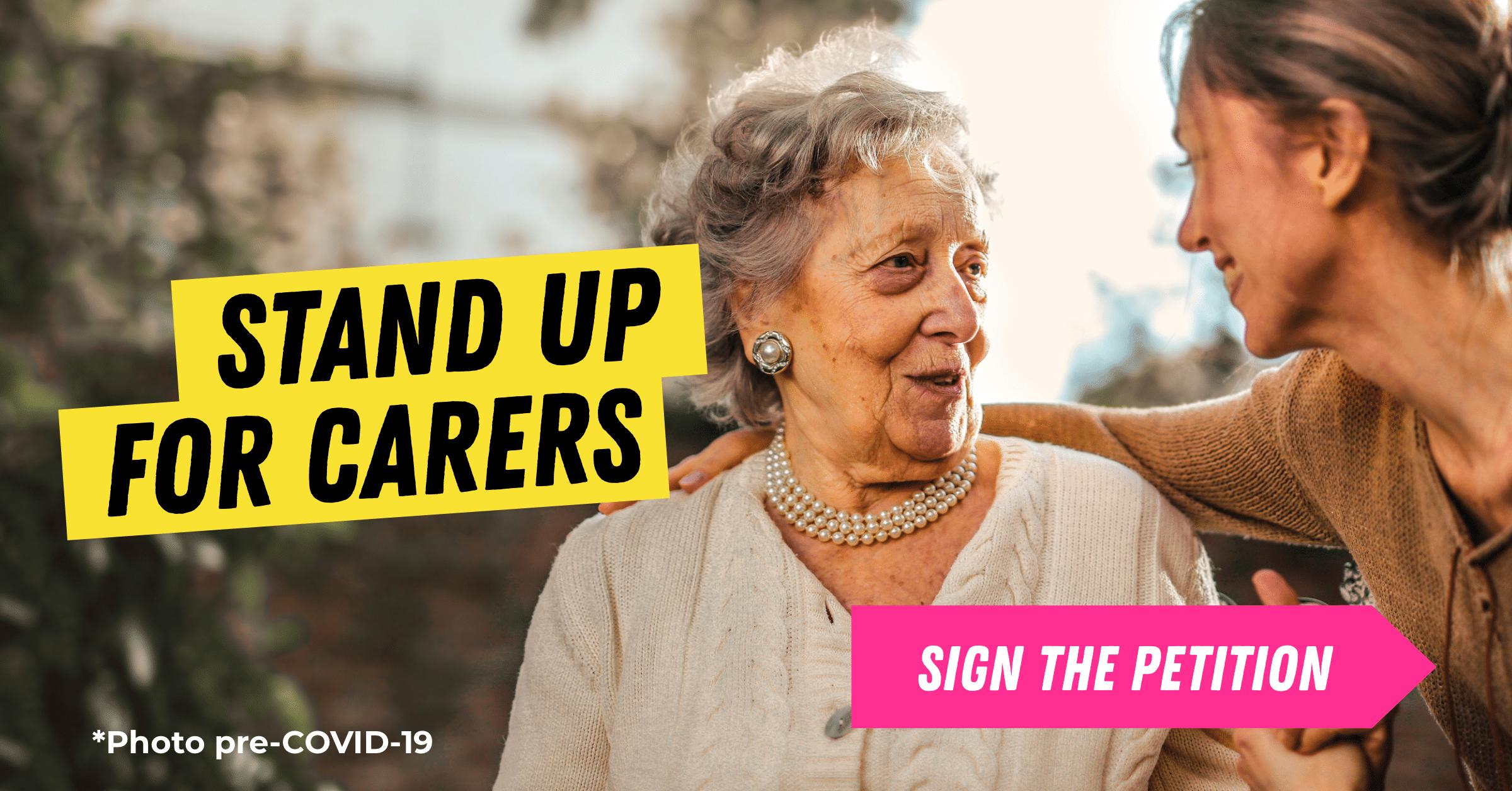 Raise the Carer's Allowance!