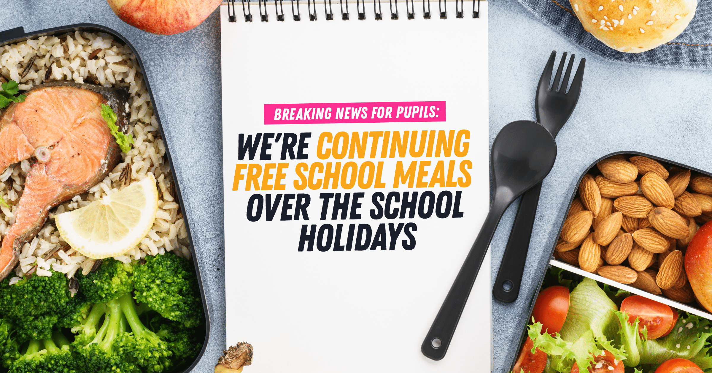 Kirsty Williams delivers Free School Meals over School Holidays
