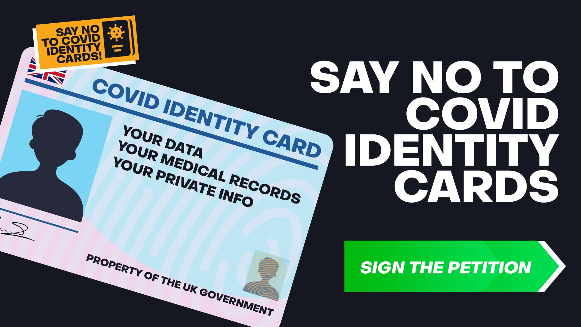 No to COVID Identity Cards!