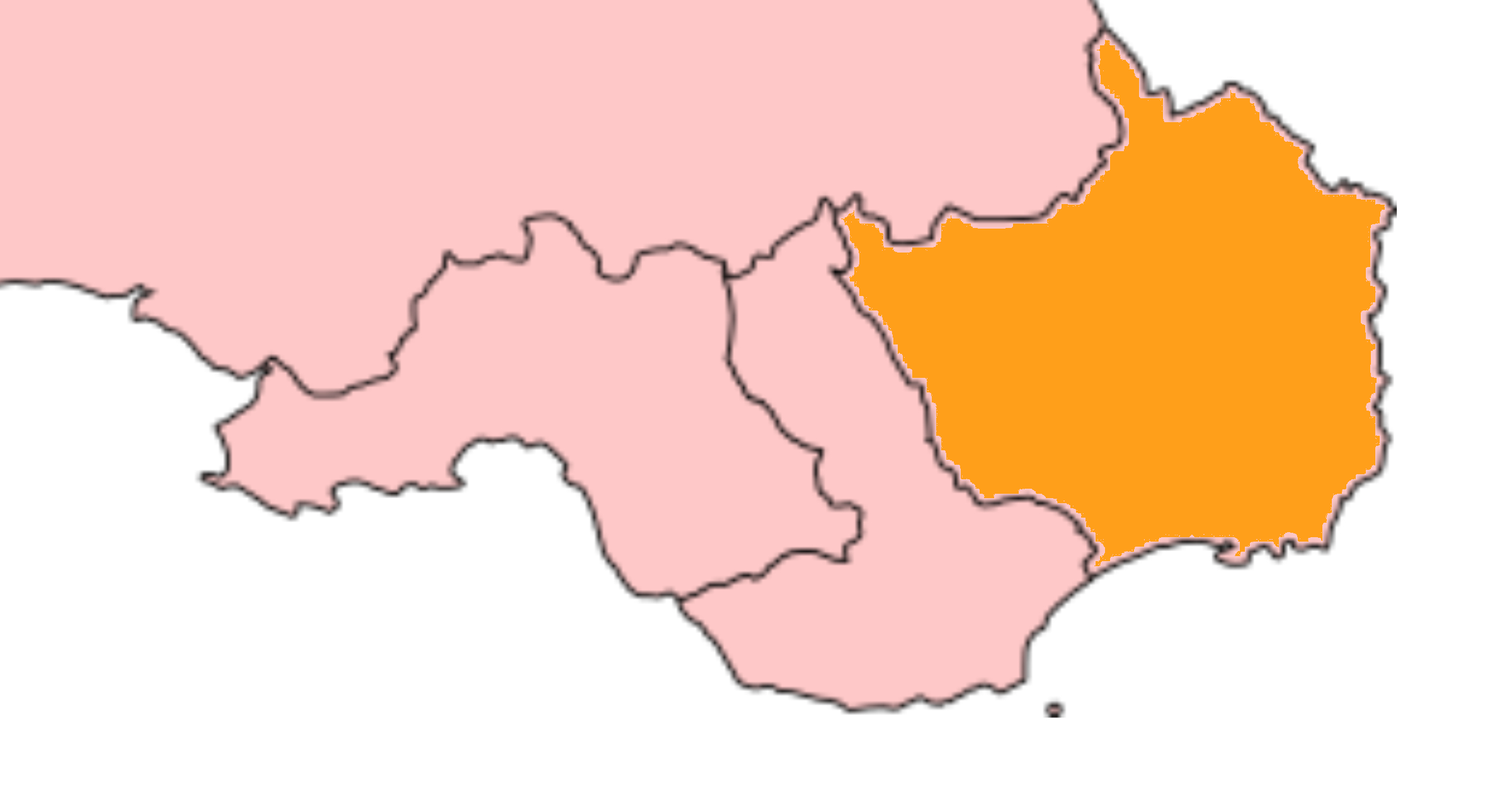 Dwyrain De Cymru
