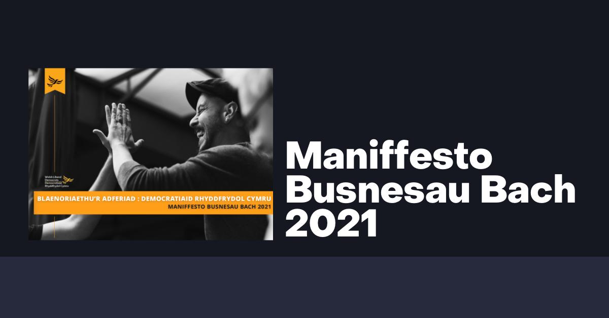 Maniffesto Busnesau Bach