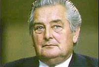 Geraint Howells, MP for Ceredigion between 1974 and 1992.
