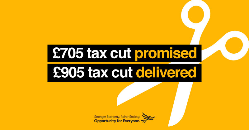 Lib Dem priorities delivered for Wales in today's budget
