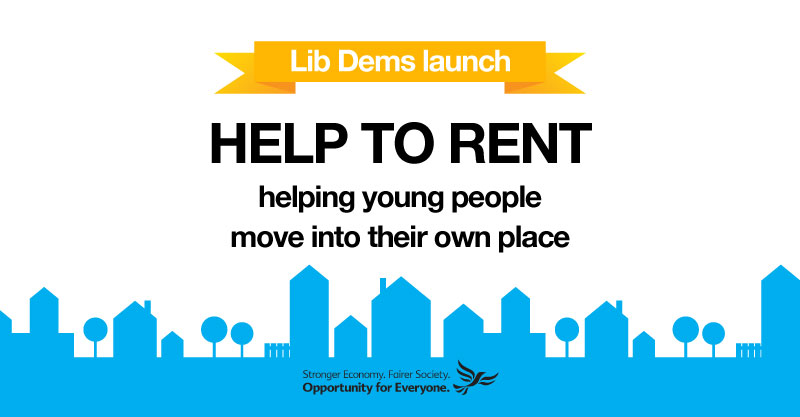 Helping young adults out of the family home and into their own place