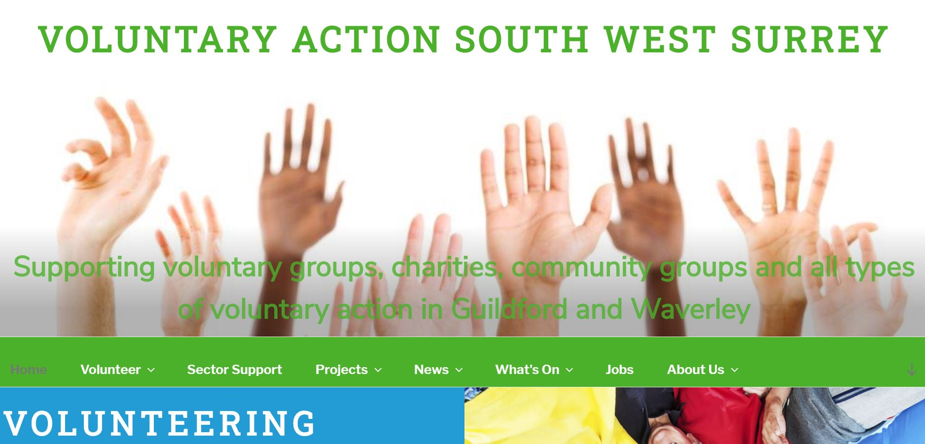 Voluntary Action South West Surrey