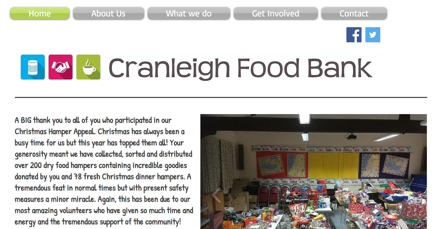 Cranleigh Food Bank