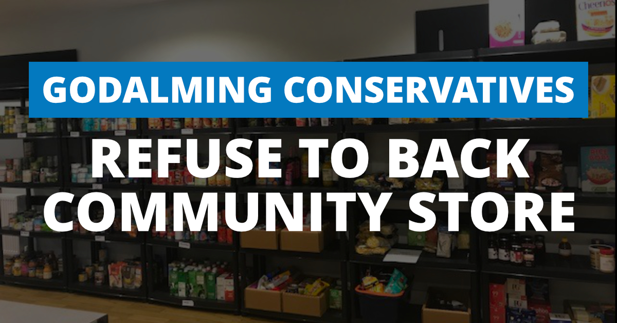 Paul Follows 'speechless' at Tories' failure to back the Community Store