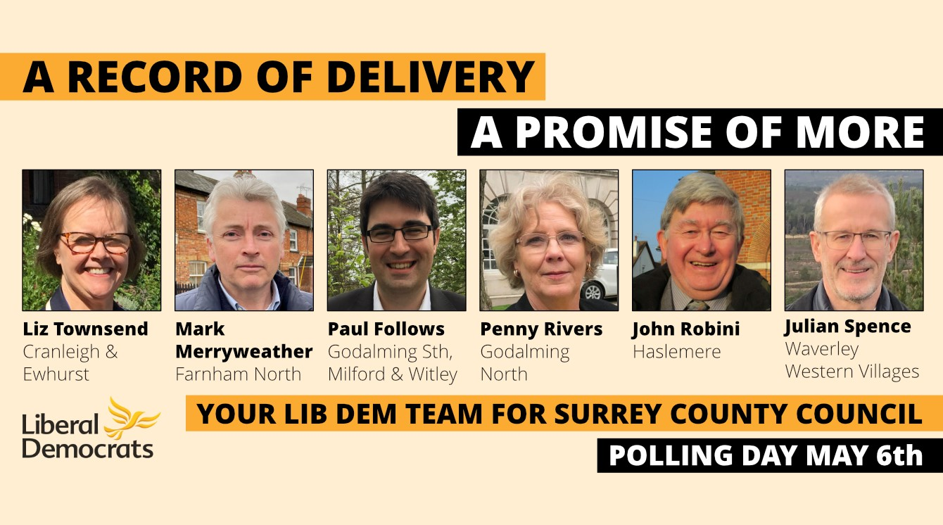 It's time for change at Surrey County Council
