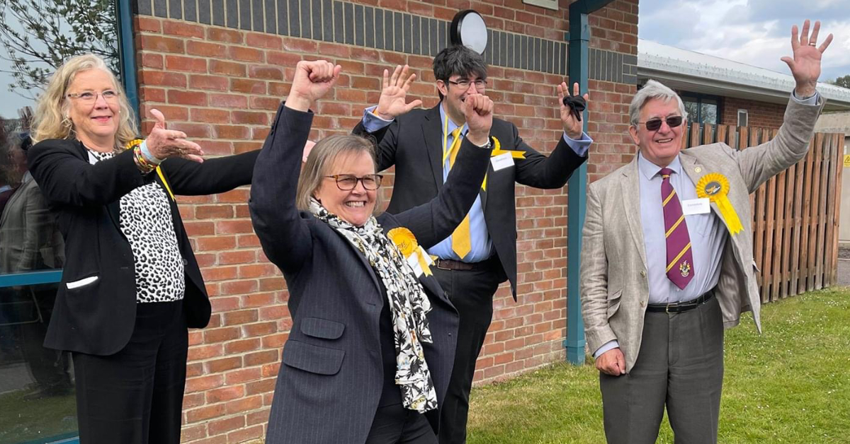 Waverley Lib Dems celebrate big wins in Surrey elections