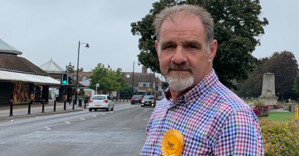Philip Townsend: A local champion for Cranleigh
