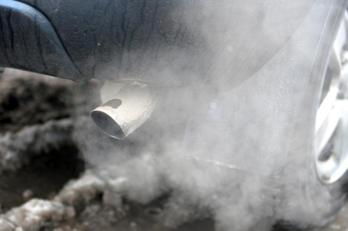 car exhaust pollution