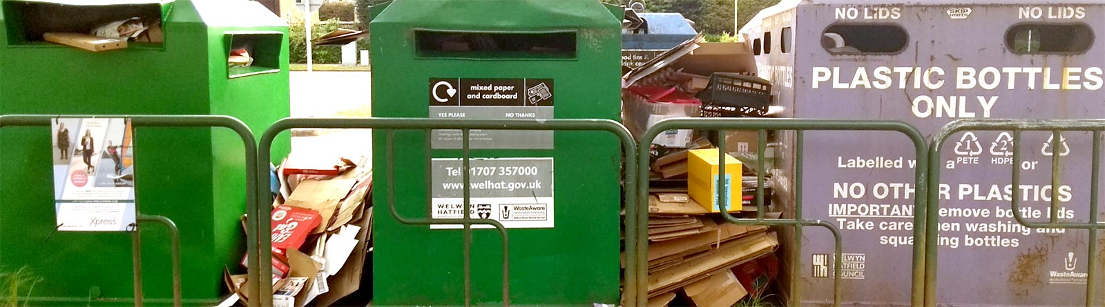 Stop the cardboard sprawl