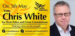 Chris White PCC Banner