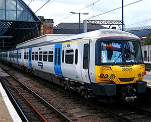Class 365 Networker Express in Great Northern livery