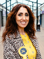 Jaida Caliskan, Lib dem candidate for Welham Green and Hatfield South