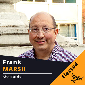 Frank Marsh - Councillor for Sherrards