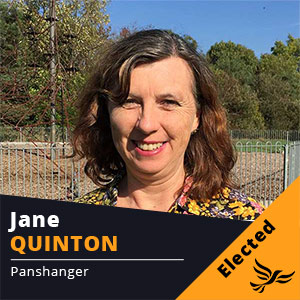 Jane Quinton - Councillor for Panshanger