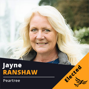 Jayne Ranshaw - Councillor for Peartree
