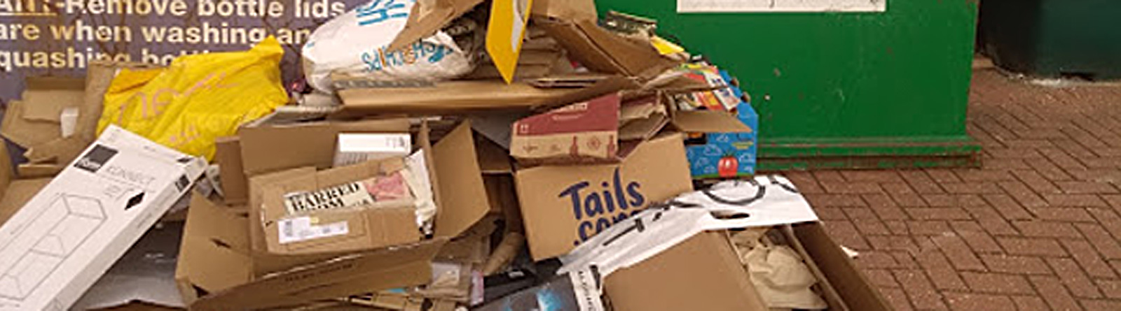 Mountains of rubbish – why?