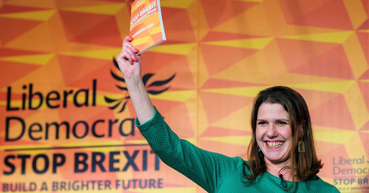 Jo Swinson launches the 2019 Lib Dem manifesto