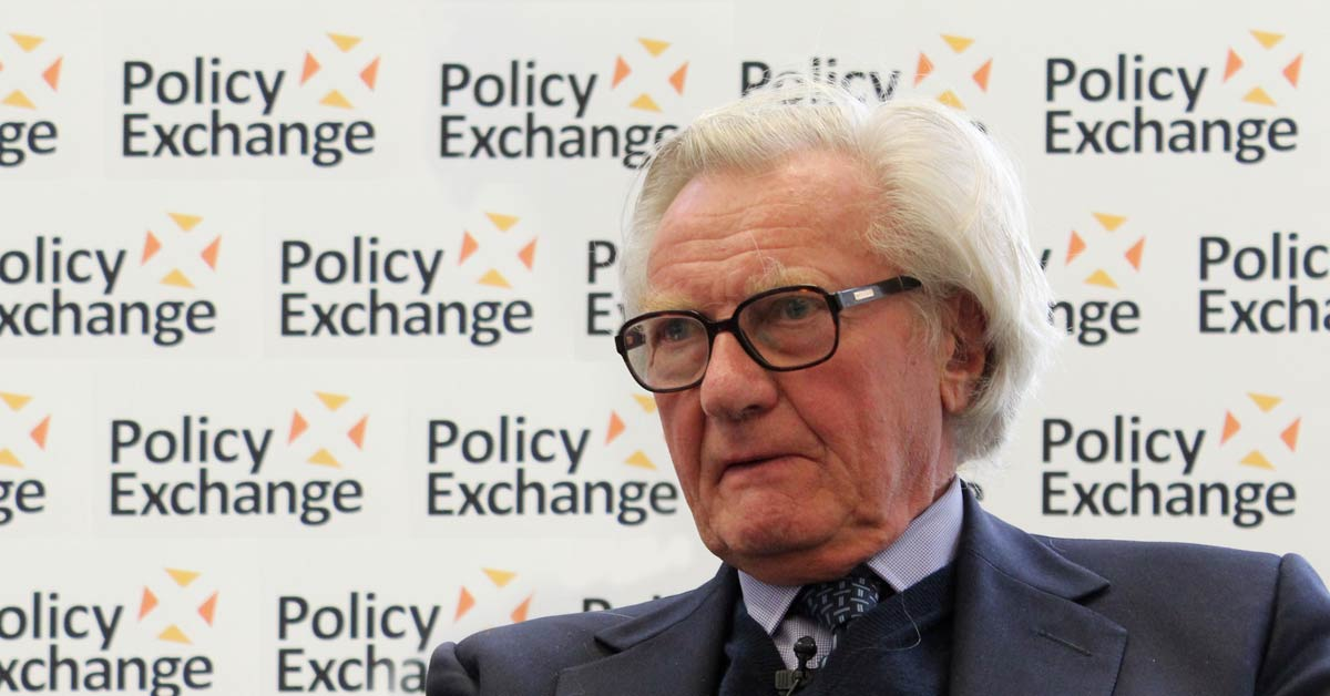 Policy Exchange - Flickr: Lord Heseltine speaking at 'Creating conditions for regional growth'