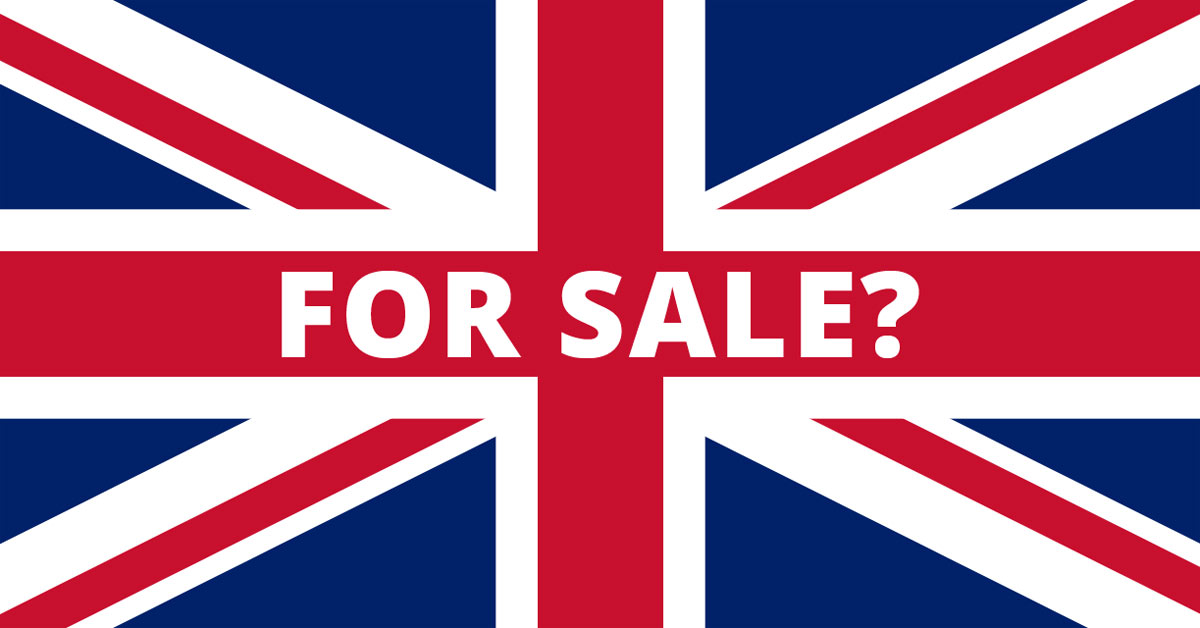 Is Britain For Sale?