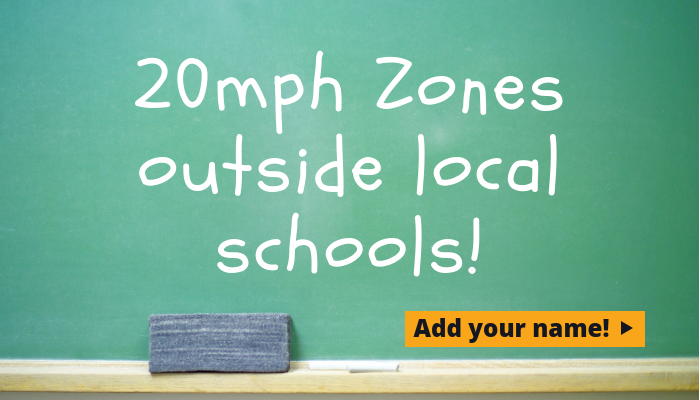20mph zones outside West Berkshire schools