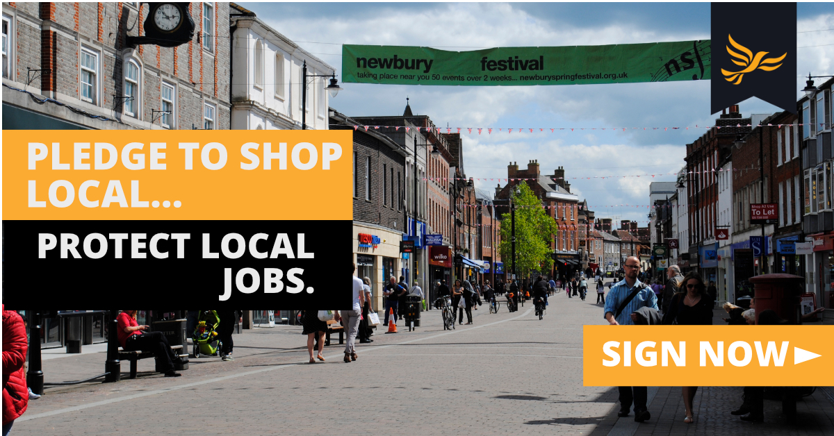 Local Liberal Democrats Launch Shop Local Pledge