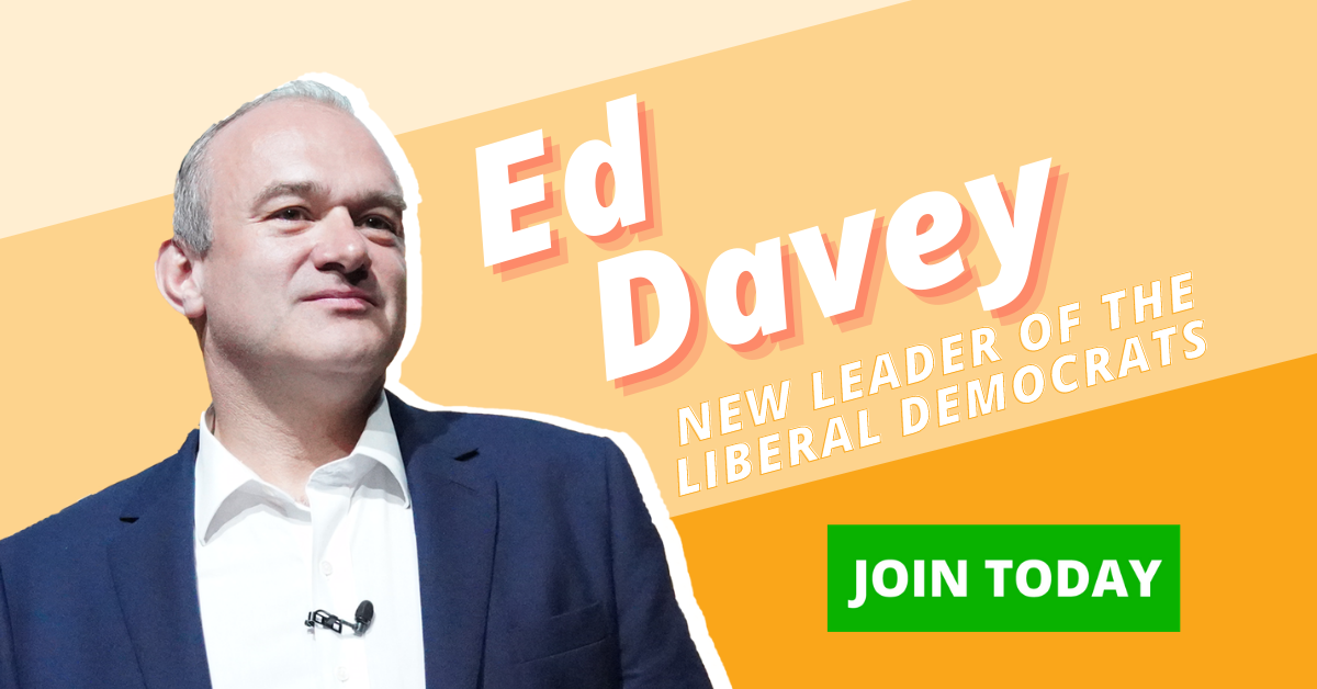 Ed Davey Invites People of West Berkshire to Join the Lib Dems