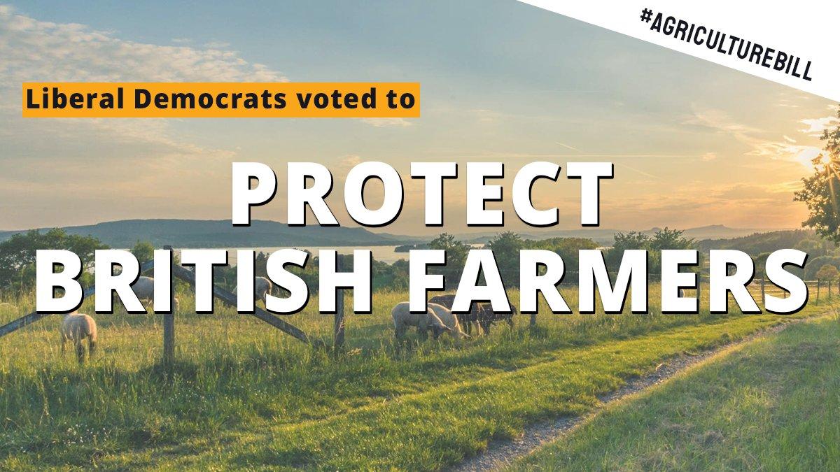 Laura Farris has thrown British farmers on the scrapheap, Lib Dems warn