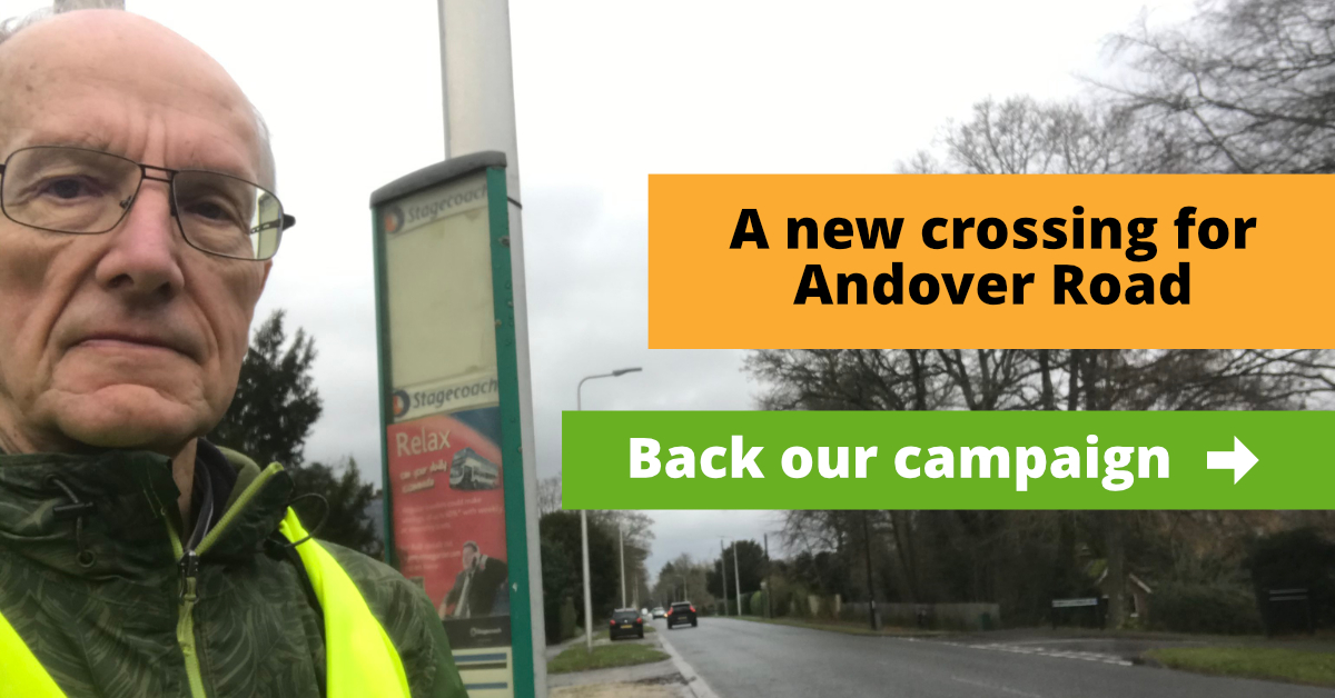 Andover Road Crossing Update