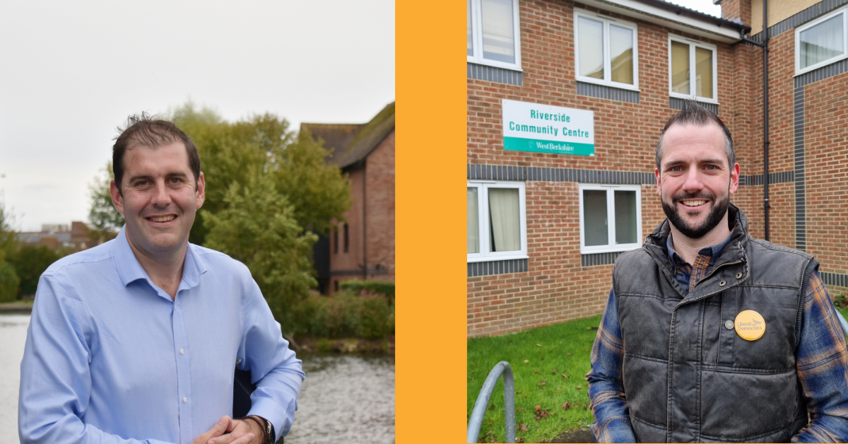 Lee Dillon Welcomes Stuart Gourley as Lib Dem Candidate for Clay Hill
