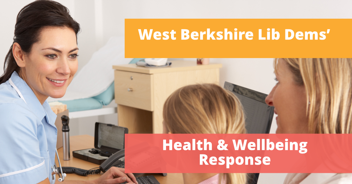 Health and Wellbeing Strategy Response