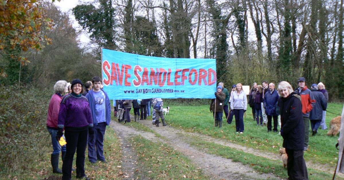 Sandleford - Government Intervenes