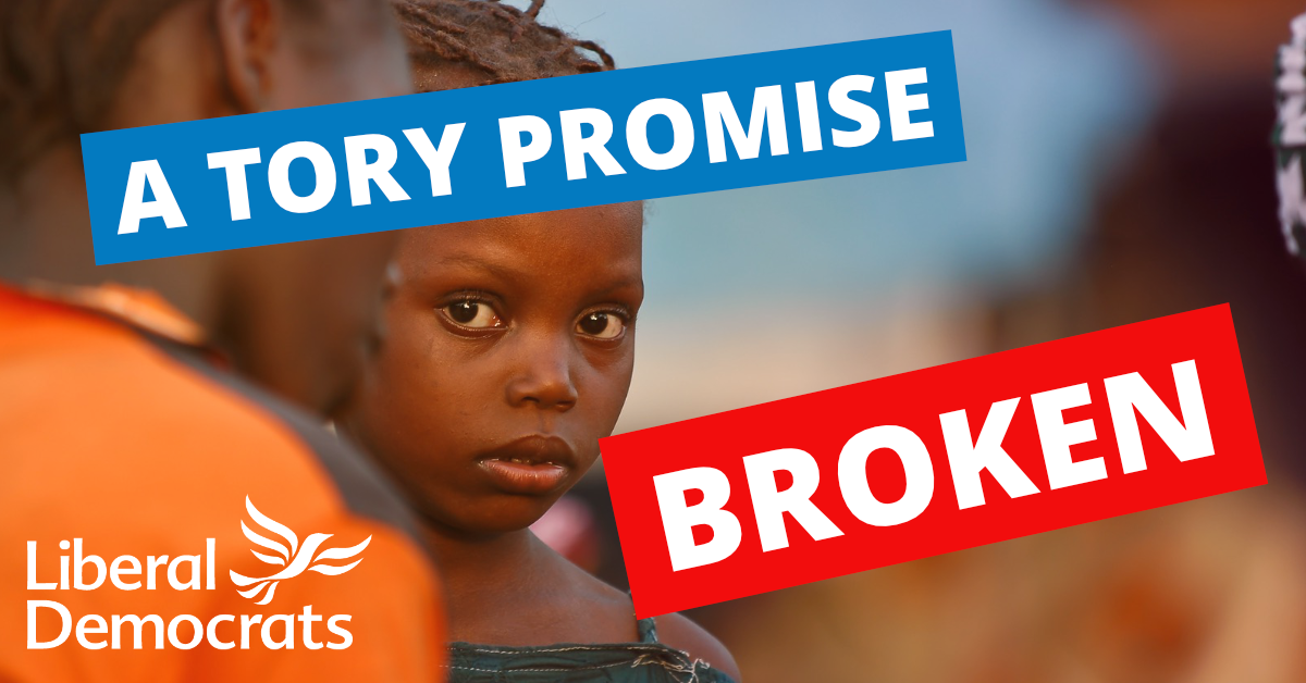 Local MP Breaks Promise & Votes Against Worlds Poorest