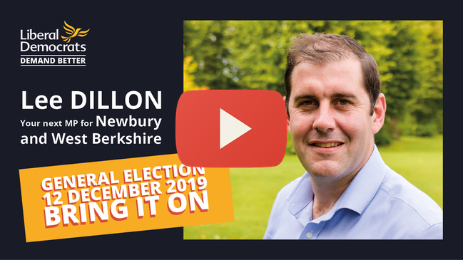 Lee talks to the people of Newbury and West Berkshire
