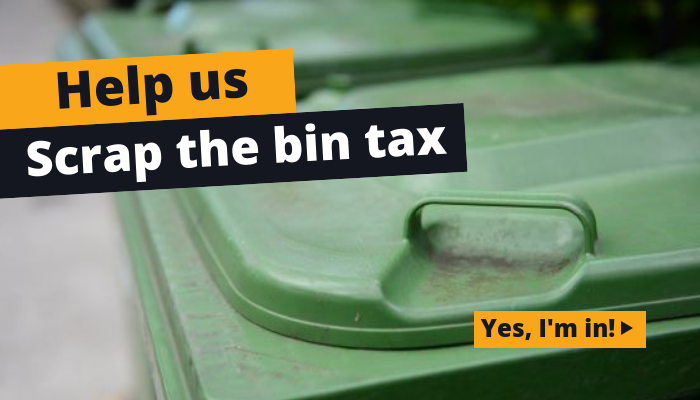 Scrap the Bin Tax