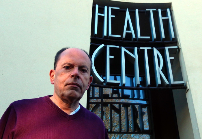 Andy Canning at Health Centre