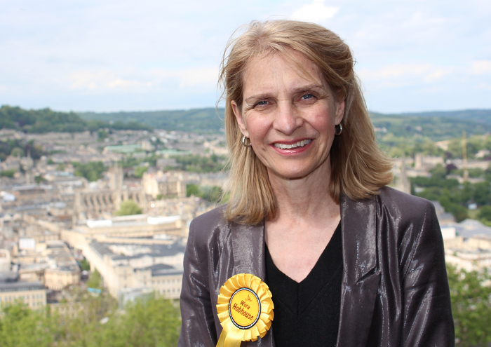 Wera Hobhouse MP launches campaign for proper police station in Bath