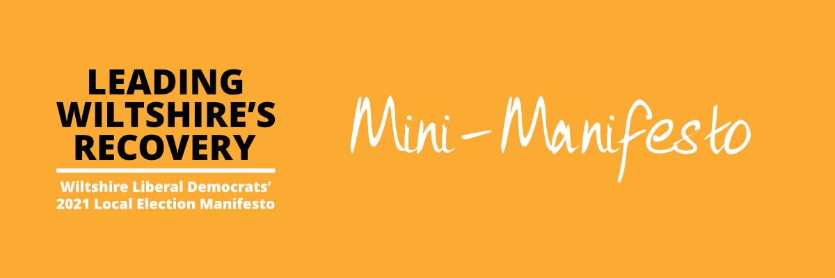 Mini-Manifesto
