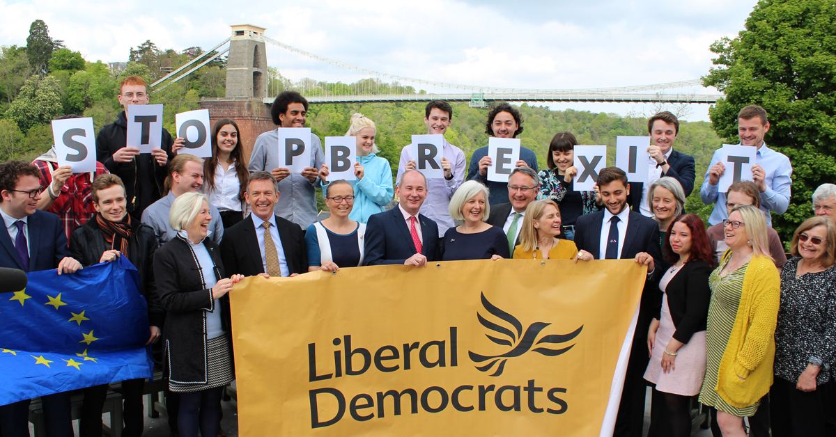 Lib Dems Launch South West Election Campaign to Stop Brexit