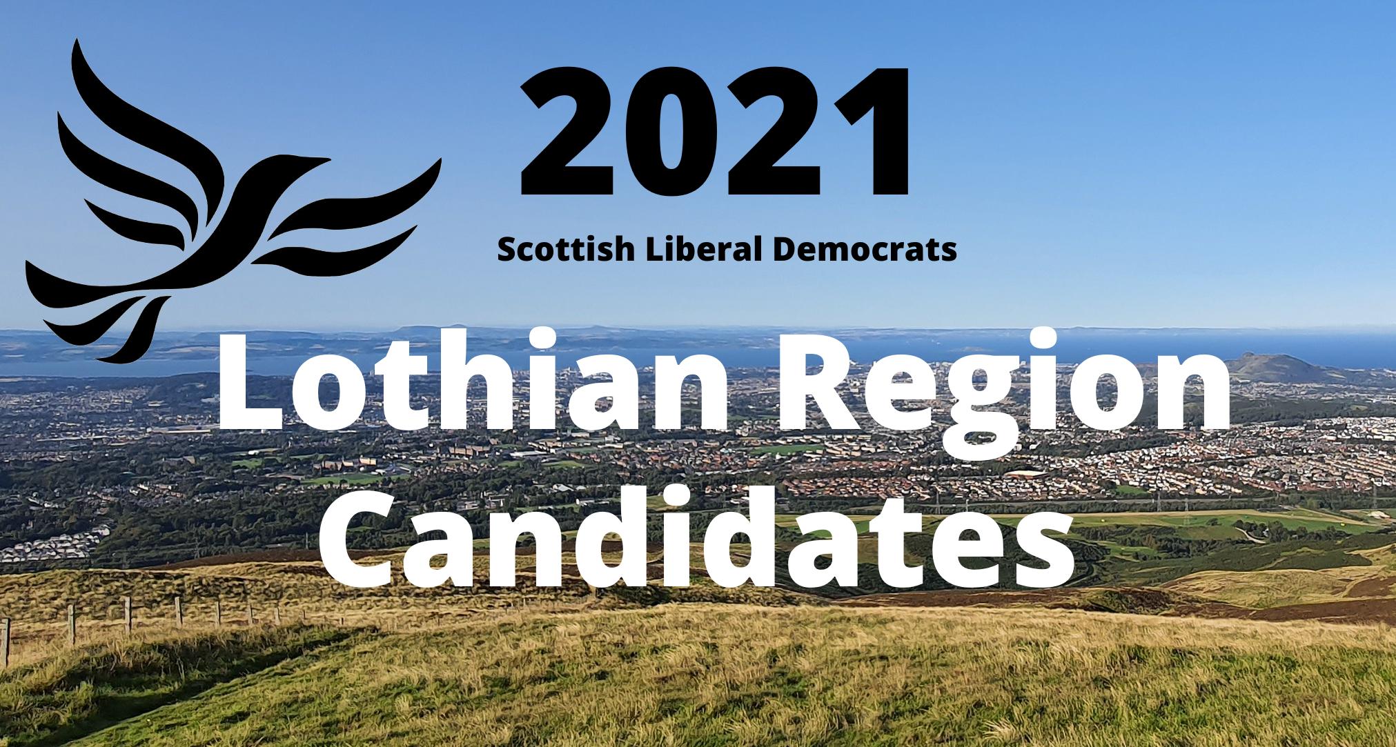 Lothian 2021 Regional candidates