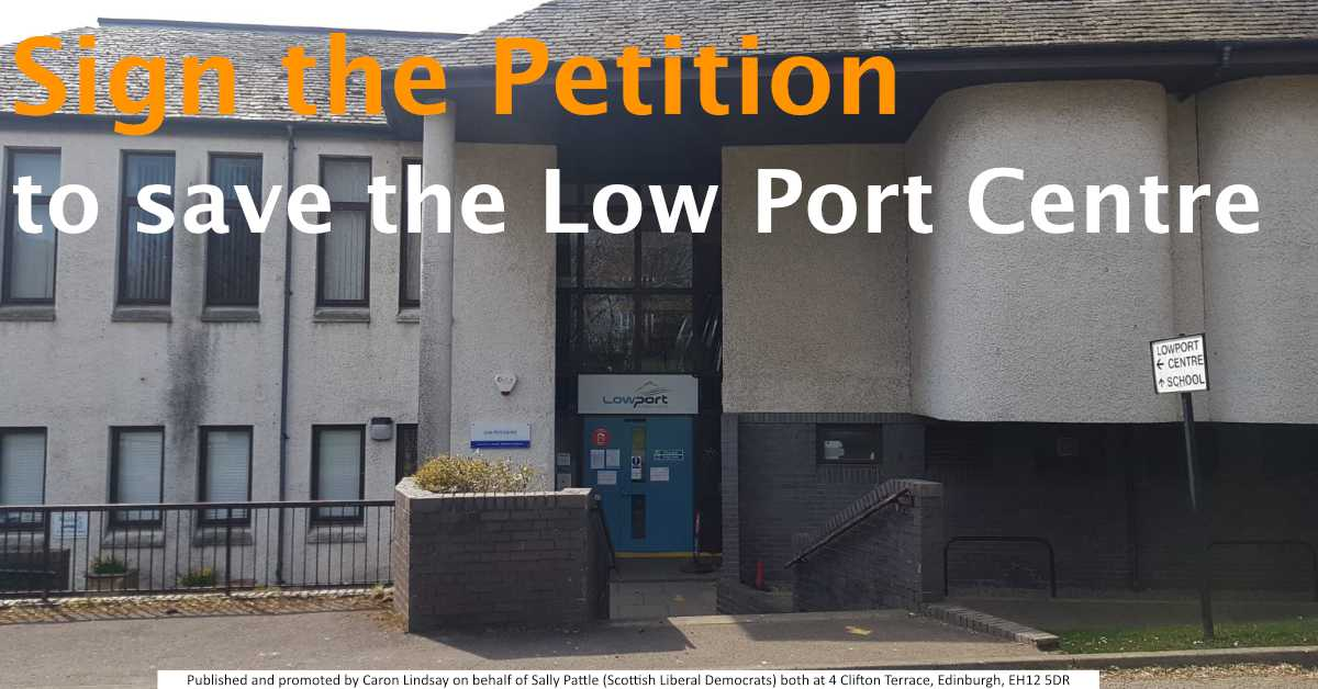 Save the Low Port Centre